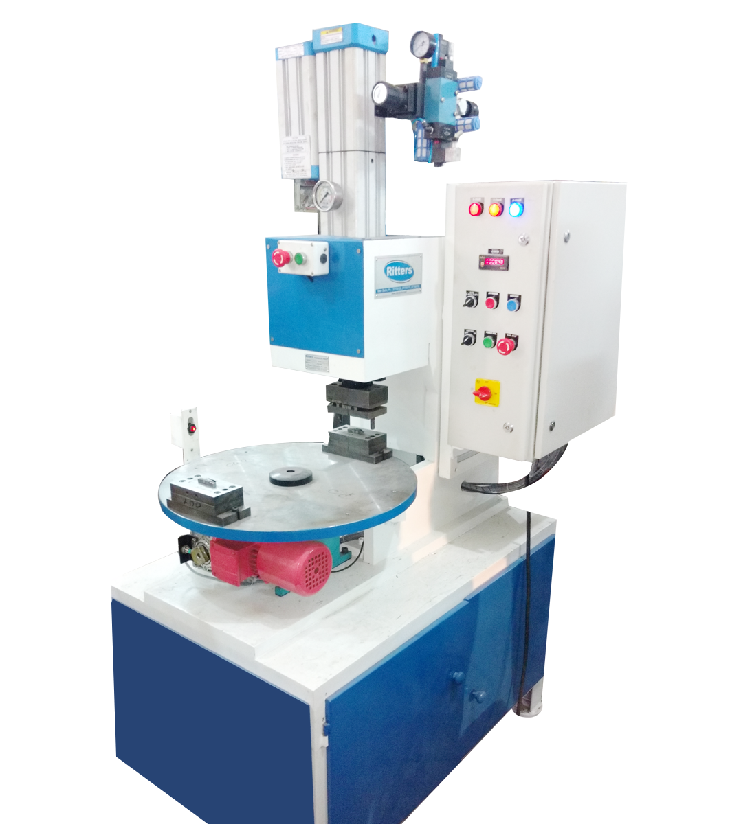 ritters Hydro Pneumatic Press With Indexing Table