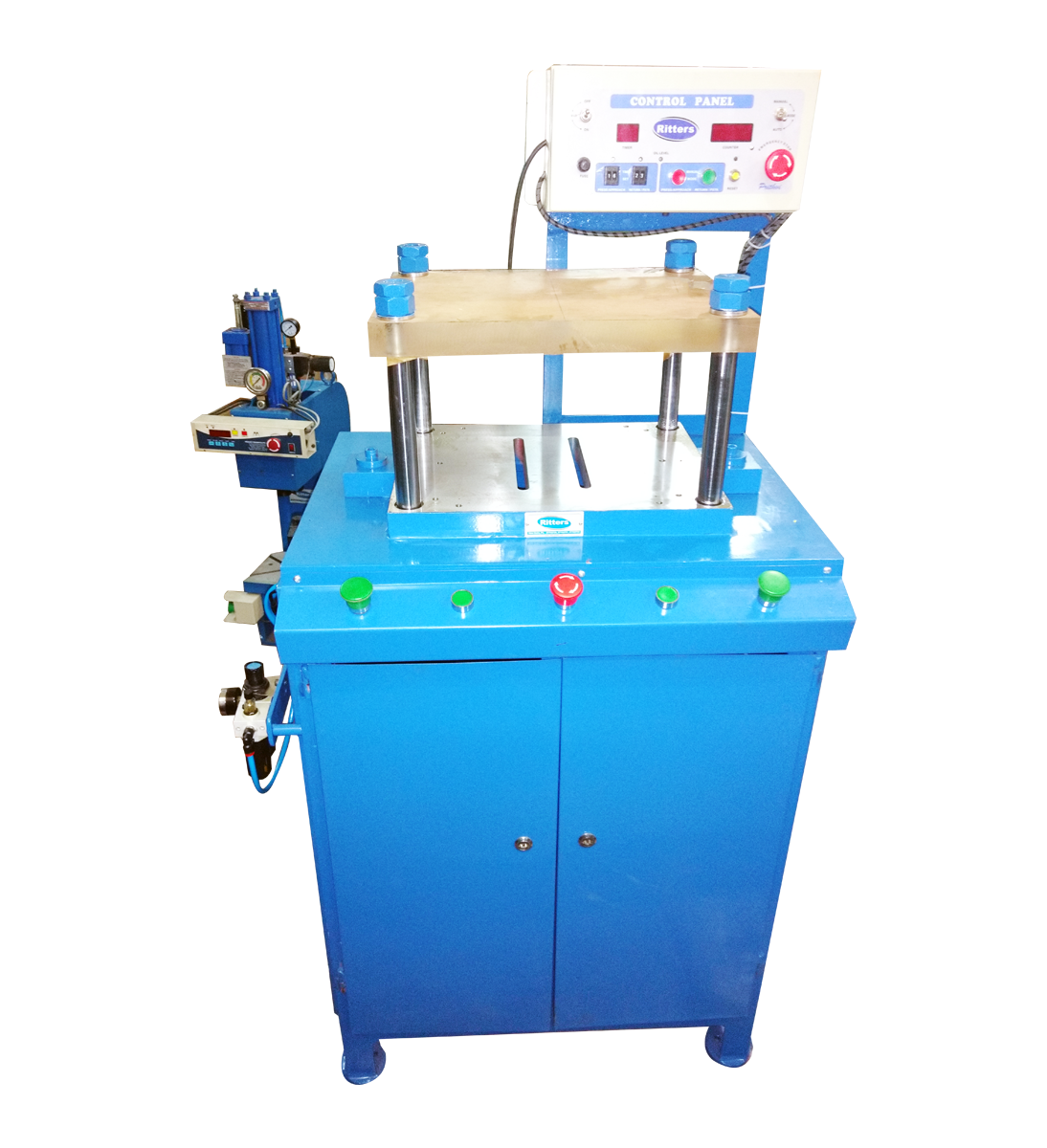 ritters Pneumatic Press , Capacity 500 Kgf  for PCB Testing