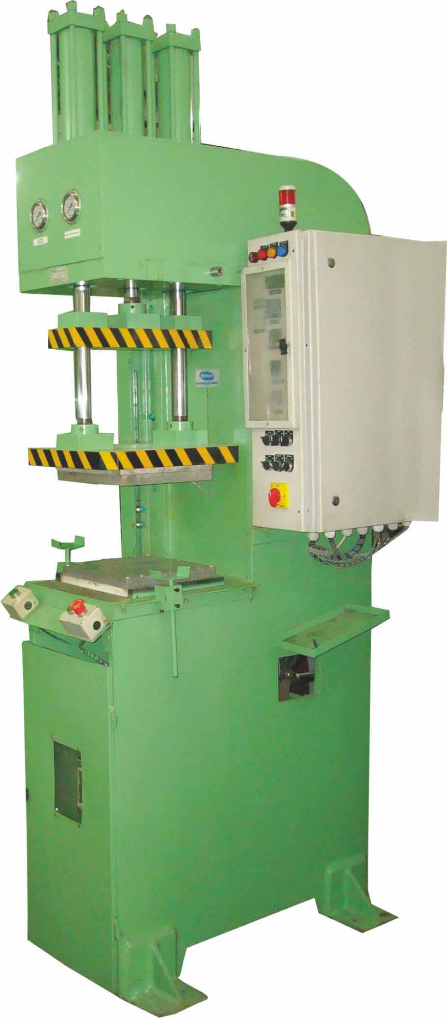 ritters Hydraulic Rubber Injection Moulding Press , Capacity 10 Tons